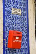 post box - stock photo