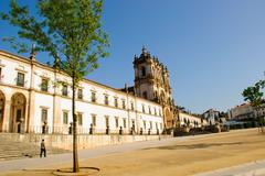 alcobaca monastery - stock photo