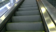 Stock Video Footage of Step On Ride Escalator