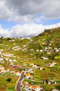 Rural landscape, madeira Stock Photos