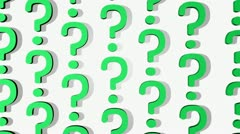 Question Answer Concept Stock Footage