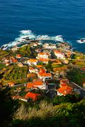 porto monic, madeira - stock photo