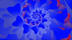 Fractal with abstract floral pattern. Stock Footage