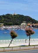 san sebastian(donostia), spain - stock photo