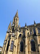 cathedral, san sebastian(donostia), spain - stock photo