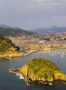 San sebastian(donostia), spain Stock Photos