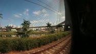 Sao Paulo - Estaiada Bridge - FishEye Stock Footage