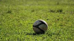 Detail soccer player kicking ball  - Soccer Match - Action Stock Footage