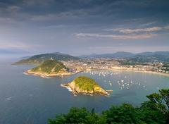Donostia - san sebastian Stock Photos