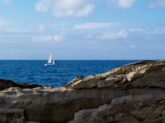 Donostia - san sebastian, ocean view Stock Photos