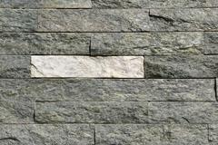 stone bricks wall - stock photo
