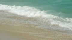 High surf ocean wave beach in Hawaii Stock Footage