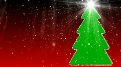 Merry Christmas different animation 13 Stock Footage