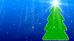 Merry Christmas different animation 14 Stock Footage