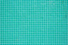 blue turqouise tiles - stock photo