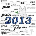 Stock Illustration of 2013 peace