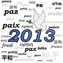 Stock Illustration of 2013 peace