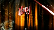 Stock Video Footage of Merry Christmas different animation 5