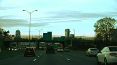 Expressway Boston - stock footage