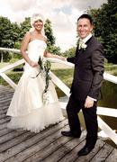 Stock Photo of wedding couple