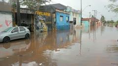 Brazilian Flood 2 Stock Footage