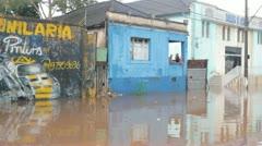 Brazilian Flood Stock Footage