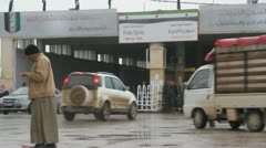 Syrian Boder Stock Footage