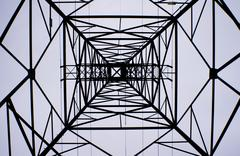Geometric tower Stock Photos