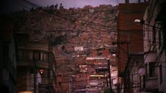 City of La Paz Stock Footage
