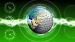 Golf World Background 44 (HD) Stock Footage