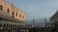 Piazza San Marco in Venice Stock Footage