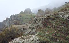 rocky mountain - stock photo