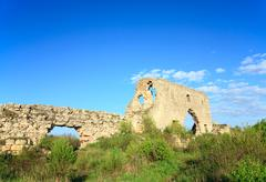 Stock Photo of historic mangup kale fortress stony walls (crimea, ukraine)