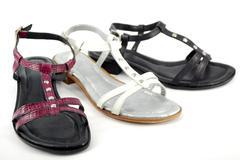 woman sandal.JPG - stock photo