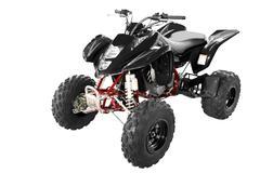black 4x4 quadbike.jpg - stock photo