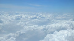 blue sky and cloud - stock footage