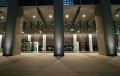 night architecture - stock photo