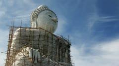 Big Duddha, Thailand (timelaps) Stock Footage