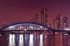Tokyo river Stock Photos