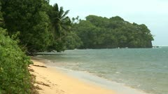 Tropical Storm Approaches Palau In Pacific Stock Footage