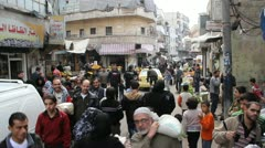Aleppo Market  Stock Footage