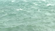 Stock Video Footage of Rip Current And Stormy Sea