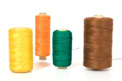 Thread isolated on a white background Stock Photos