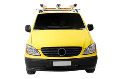 road assistance car isolated.jpg - stock photo