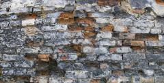 utter desolation 1 (wall) - stock photo