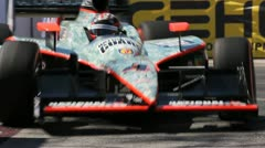 Long Beach Grand Prix Indy Race 2011 09 - stock footage