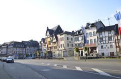 Adenau village near Nurburgring, Germany Stock Photos