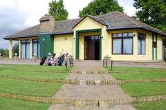 golf club house.JPG - stock photo