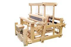 wooden loom.jpg - stock photo