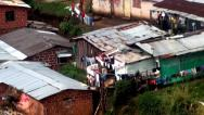 Stock Video Footage of Slum, Barrio, Poor Neighborhood, Poverty